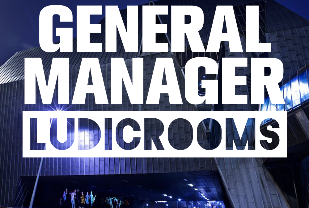 Looking to hire a GM to join the team at Ludic Rooms