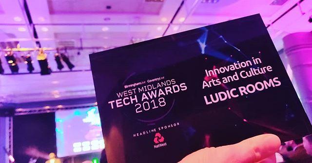 West Midlands Tech Awards 2018