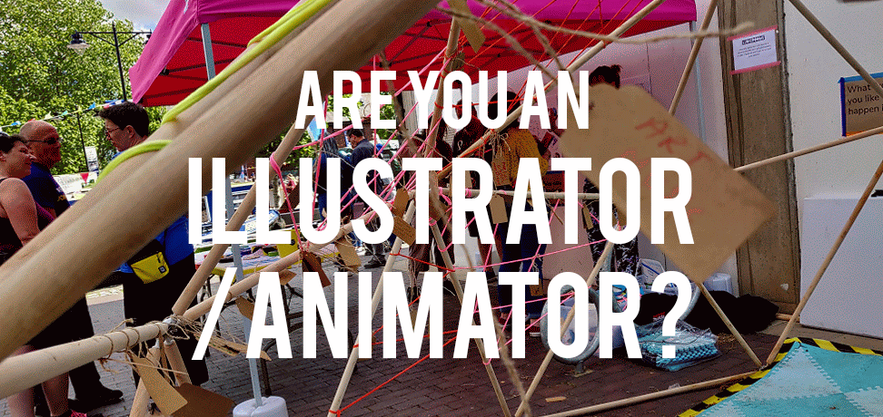 Looking to hire a freelance illustrator/animator to join us at Ludic Rooms.