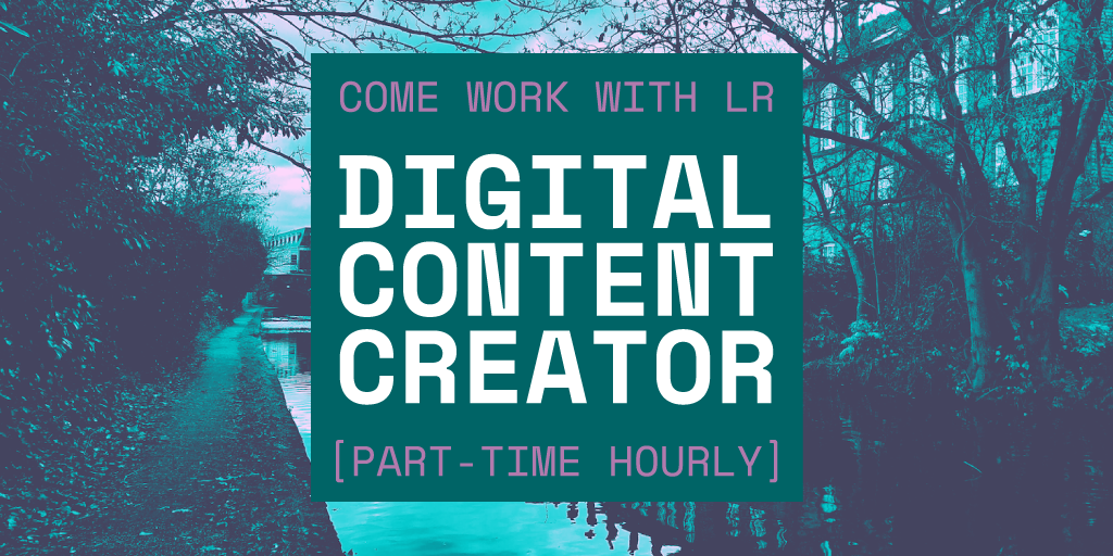 Work with us – Digital Content Creator